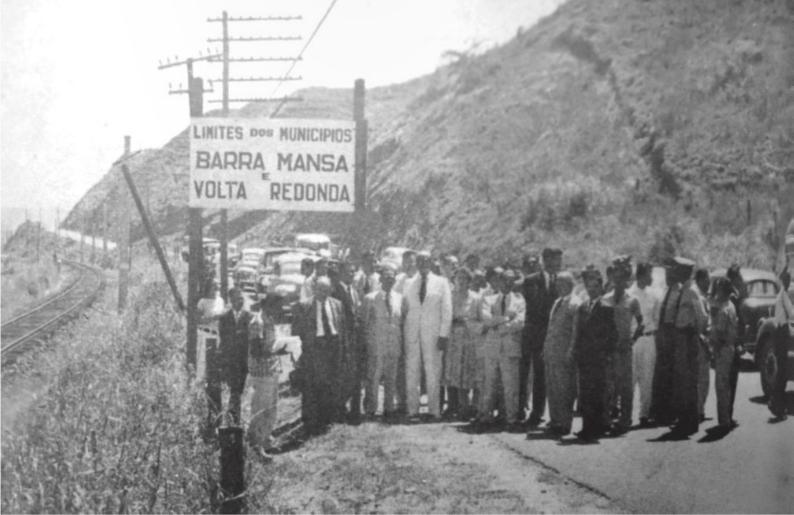 emancipação de Volta Redonda